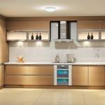 Ahşap kelebek mutfak modeli