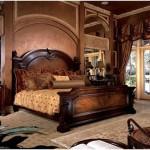 Ahşap oymalı yatak odası takımları