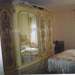 Antika yatak odası dizaynı