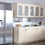 Beyaz kelebek mutfak modeli