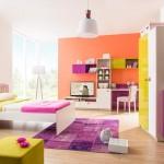 Color mix kız genç odası
