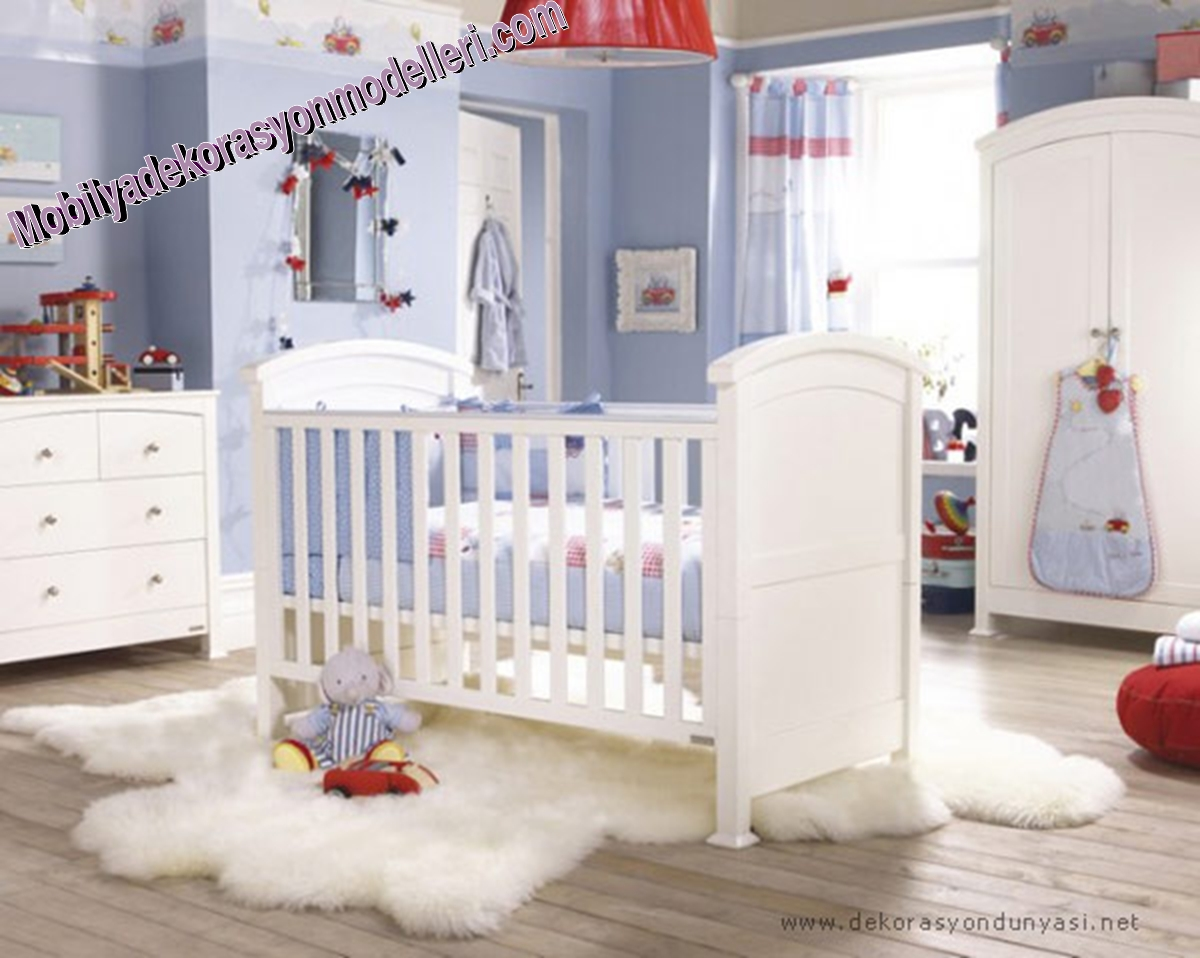 Erkek Bebek Odası Modelleri