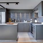 Gri mutfak dolabı modelleri 01