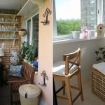 Küçük balkon dekorasyonu2