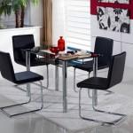 Mondi slide masa siyah sandalye siyah