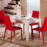 Mondi zenith mutfak masası kırmızı