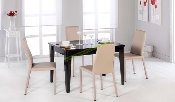 Mondi zenith mutfak masası siyah