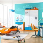Planes erkek çocuk genç odası