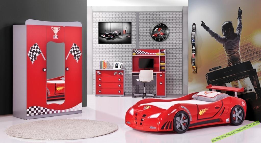 Red Car Genç Çocuk Yatak Odası Takımı 2.734,00 TL