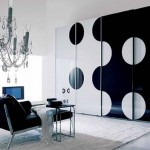 Siyah beyaz dekorasyon fikirleri1
