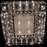 Tavana monte spot lambalı kristal taşlı avize modeli