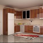 Tekzen mutfak modelleri