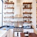 Ahşap mutfak raf modelleri