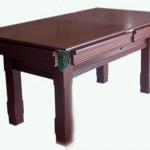 Ahşap yemek masası açılabilir bilardo masası