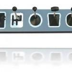 Araba vites kollarından yapılmış sıradışı duvar askılık modeli