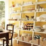 Basamaklı mutfak raf modeli