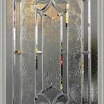 Dekoratif şekilli cam kapı modeli