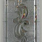 Dekoratif cam kapı modeli
