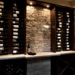 Duvar dekorasyonlarından şaraplık