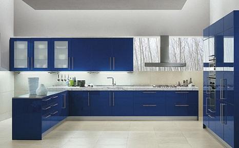 eğlenceli renkli mutfak dolabi modeli