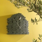 Farklı italyan tasarım guguklu duvar saati