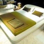 İtalyan tasarımı modern yatak modeli