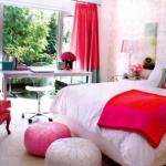 Kızlar için yatak odası dekorasyonu