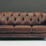 Kahve renkli klasik model italyan tasarım kanepe