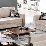 Kelebek mobilya bazalı oturma grubu