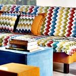 Kelebek mobilya renkli oturma grubu