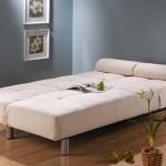 Kirli beyaz renklerinde açılabilir çekyat kanape modeli