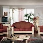 Klasik italyan tasarım koltuk takımları