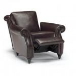 Klasik tv koltuğu deri italyan tasarım