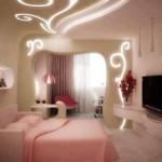 Led aydınlatma salon dekorasyonu örnekleri