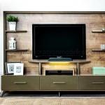 Ledli ışıklı duvar ünitesi weltew mobilya