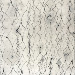 Modern beyaz siyah çizgili studyo tipi yer halısı