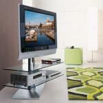 Modern döndürülebilir tv cam stand modeli
