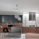 Modern italyan tasarım mutfak dekorasyonu