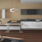 Modern tasarım italyan mutfak dekorasyonu