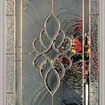 Modern ve dekoratif cam kapı modeli