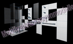 Lüks modern banyo tasarımı